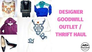 Designer Thrift / Goodwill Outlet Haul - Louboutins & Tory Burch!!