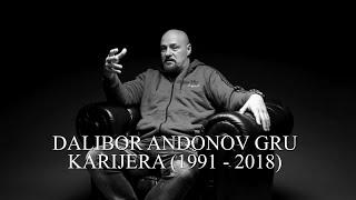 DALIBOR ANDONOV GRU   KARIJERA (1991   2018)
