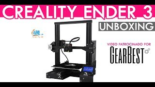 Ender 3 unboxing en Español | Gearbest