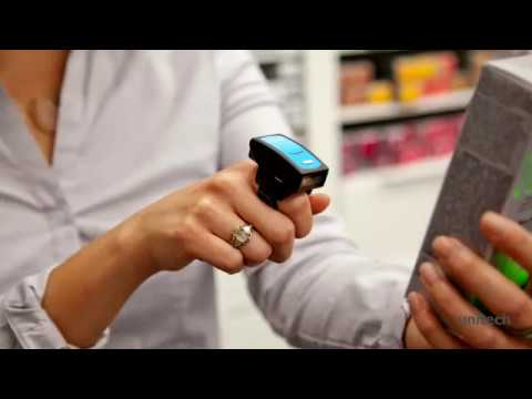 Unitech MS650 Wearable CCD Ring Barcode Scanner video thumbnail