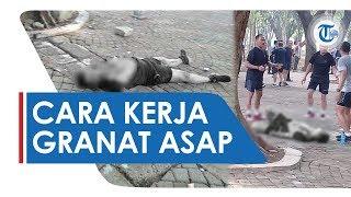 Cara Kerja Granat Asap, Benda yang Meledak di Area Monas dan Melukai 2 Anggota TNI