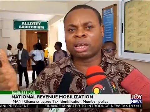 National Revenue Mobilization - Business Live on JoyNews (5-4-18)