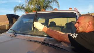 How to change wiper blades F350 project