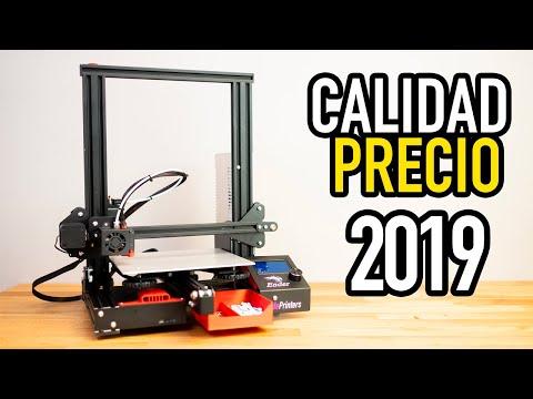 La MEJOR impresora 3D BARATA de 2019 | Ender 3