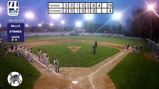 12U Boys of Summer Baseball Rochester vs Fairfield
