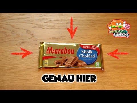 Marabou Schokolade aus Schweden!