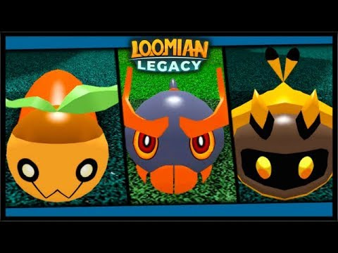 Finding All New Loomian Species Loomian Legacy Roblox