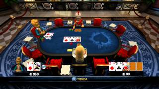 World Series Of Poker Full House Pro | Torneo Contra Phil Roman | [RLL]