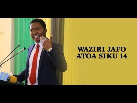 Waziri Jafo atoa siku 14 kwa uongozi wa wilaya ya Iringa
