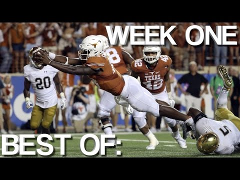 College Football: Best of Week One