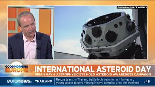 International Asteroid Day: Brian May and astrophysicists hold asteroid awareness campaign
