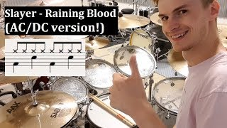 7 Metal Songs played with Overly Simplified Drumming