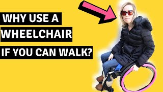 ♿️WHY DO YOU NEED A WHEELCHAIR IF YOU CAN WALK?