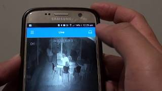 How To Set Up Swann Smartphone Remote Viewing Port Opening - Самые