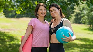 video: The 20-minute daily workout that could change your life – with sisters Sadie Frost and Holly Davidson