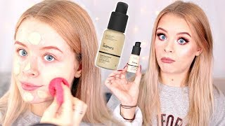 TESTING THE ORDINARY COVERAGE FOUNDATION! SO CHEAP!! | Sophdoesnails