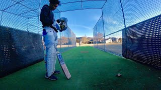 POV GoPro Batting - That Slow Motion Feeling Batting in the nets(Ep15)