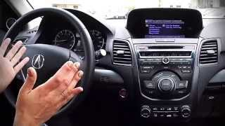 Demonstrating Voice Commands In Acura Technology Package - Northeast Acura