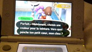 Animal crossing new leaf coiffure couleur fille