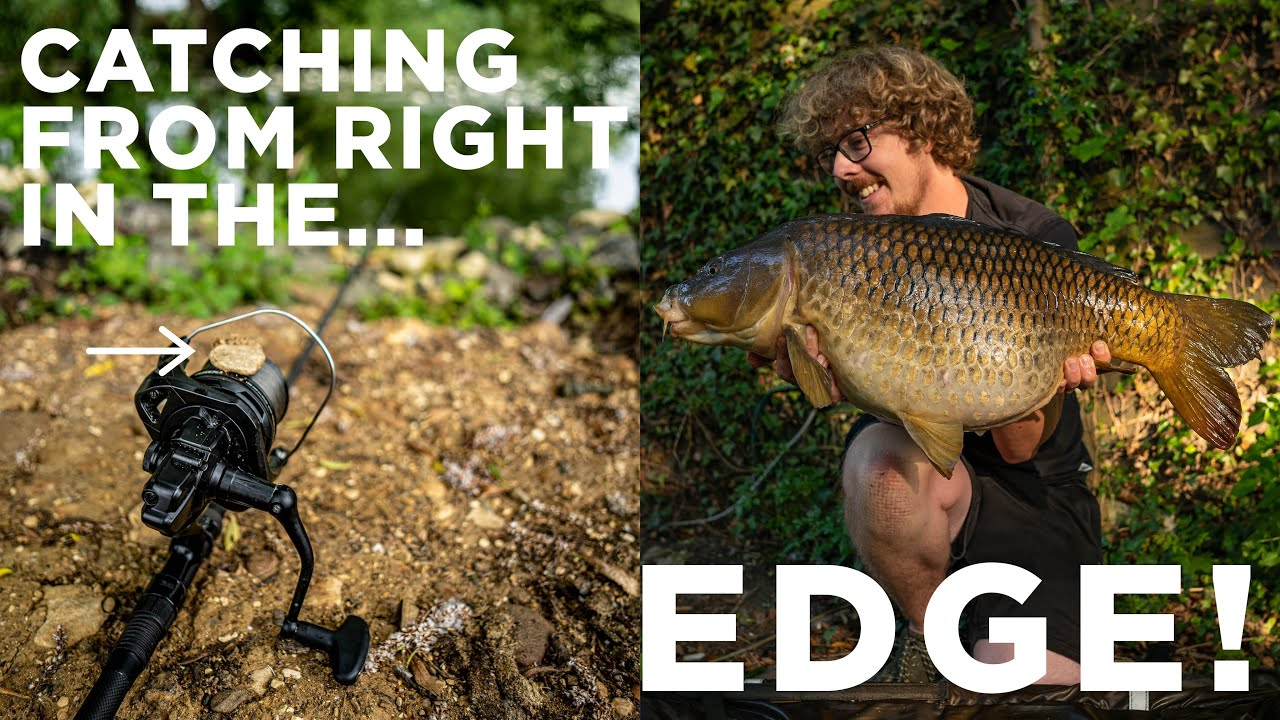 Catching carp from the edge, Part 2