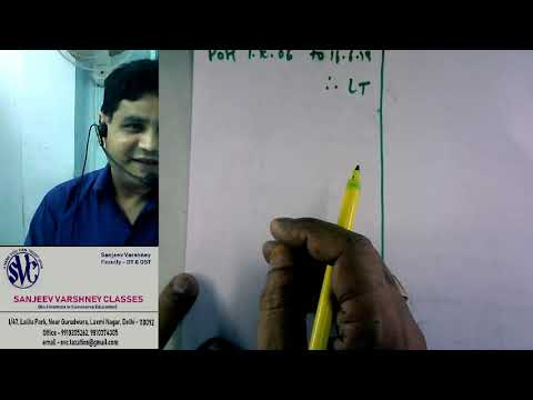 Captail Gains, Taxation lecture by Prof  Sanjeev Varshney