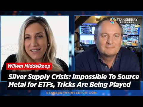 Silver Supply Crisis: Impossible To Source Metal for ETFs, Tricks Are Being Played Warns Middelkoop