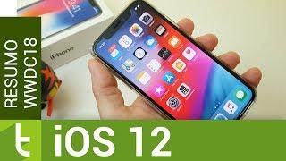 As 10 principais novidades do iOS 12 apresentadas na WWDC18