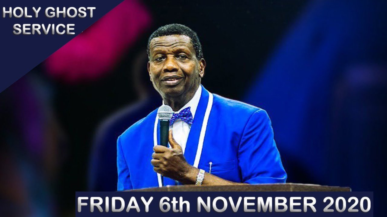 RCCG November 2020 Holy Ghost Service - Let There Be Light 10