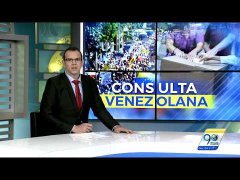 Venezolanos radicados en Cali votaron contra constituyente de Nicolás Maduro