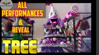 Masked Singer Tree All Performances & Reveal | Season 2