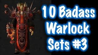 Jessiehealz - 10 Badass Warlock Transmog Sets #3 (World of Warcraft)