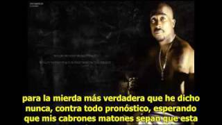 2pac - Against All Odds subtitulada español
