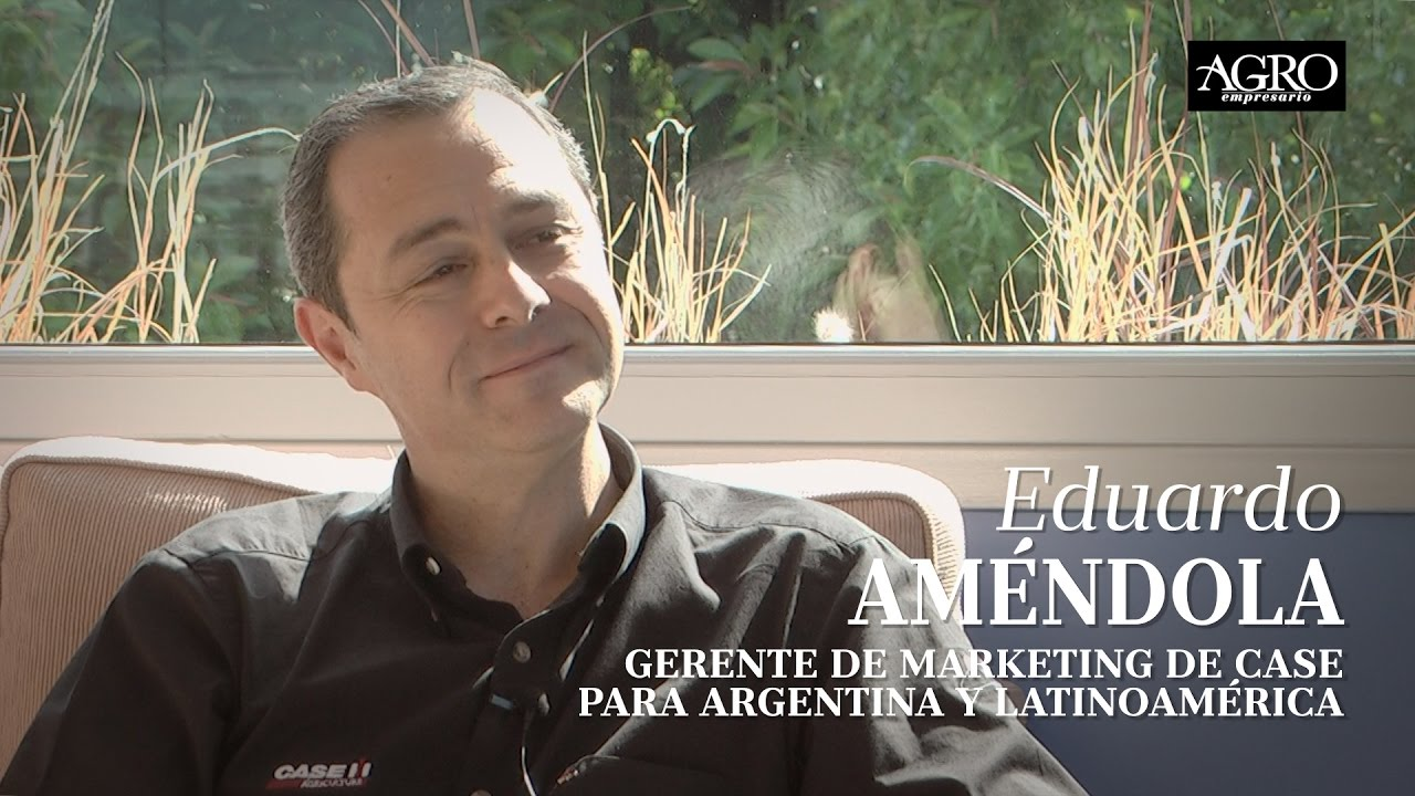Eduardo Améndola - Gte. de Marketing de Case para Argentina y Latinoamérica