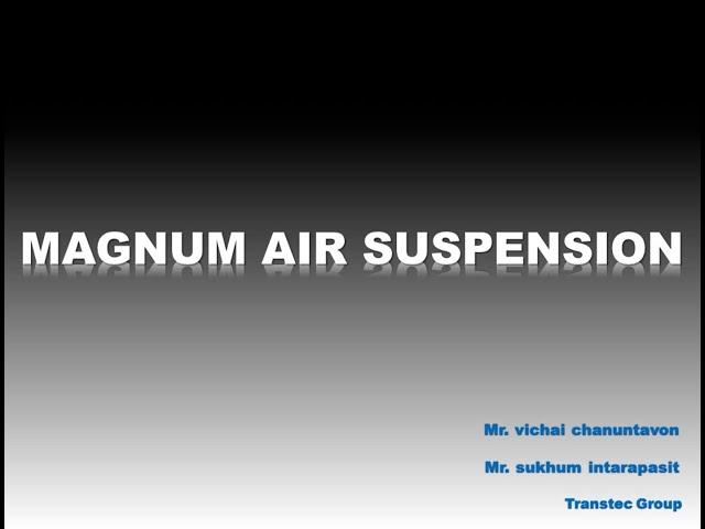 Magnum Air Suspension