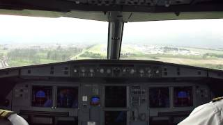 preview picture of video 'Landing at El Dorado International Airport (SKBO), Airbus A320-200 N688TA Avianca'