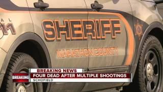4 killed in multiple shootings near Wausau