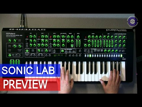 Sonic LAB Preview: Roland System-8 Synthesizer