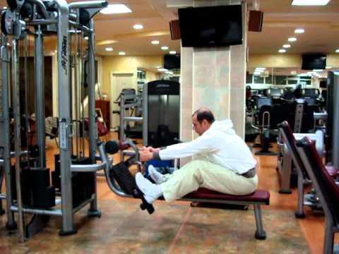 La vita di esercizio per un dorso fa male