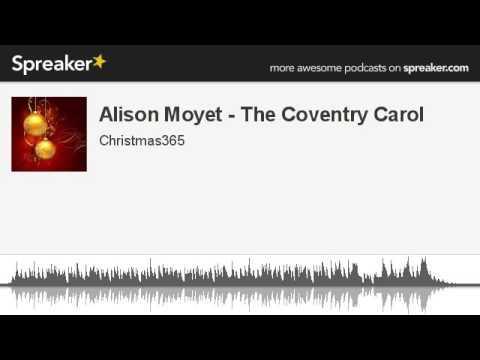 Alison Moyet - The Coventry Carol