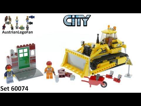Vidéo LEGO City 60074 : Le bulldozer