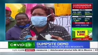 Dumpsite demo: Nyeri County decision to relocate dumpsite irks residents prompting demos