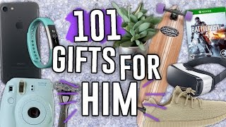 101 LAST MINUTE GIFT IDEAS FOR HIM HE