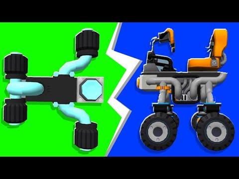 Noob VS. Pro Smallest Car Challenge - Scrap Mechanic   JeromeACE
