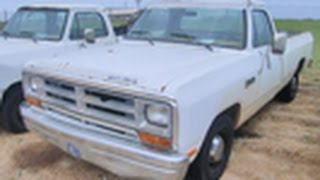 preview picture of video '1986 Dodge Ram PIckup on GovLiquidation.com'