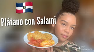 Cook With Me Dominican Food: Salami Guisado😋