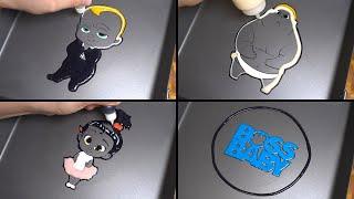 Boss baby Pancake Art - Theodore Lindsey Templeton, Staci, Jimbo, Logo