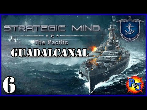 Let's Play Strategic Mind: The Pacific | USA Battle of Guadalcanal Gameplay Part 6 Absolute Victory