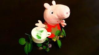 Свинка Пеппа ложится спать. Мятный чай – рецепт от Пеппы. Готовим вместе с Пеппой.