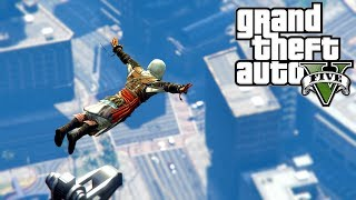 GTA 5   Parkour Fails   Assassin's Creed Edition # 14 (Parkour Wins, Jumps, Assassin's Creed Fails)