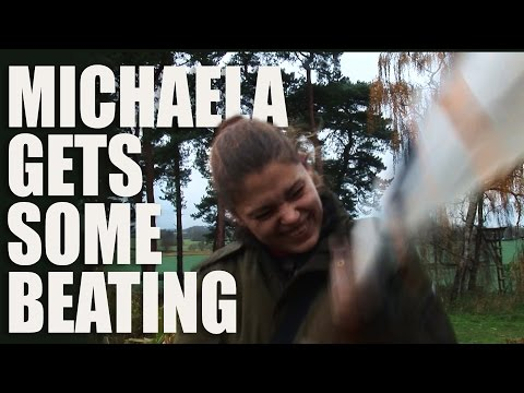 Michaela gets some beating…